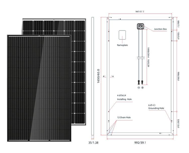 Buy 60 Cell 280w 300w Mono Solar Panel 60 Cell 280w 300w
